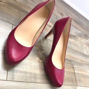 Cole Haan Berry Leather Heels